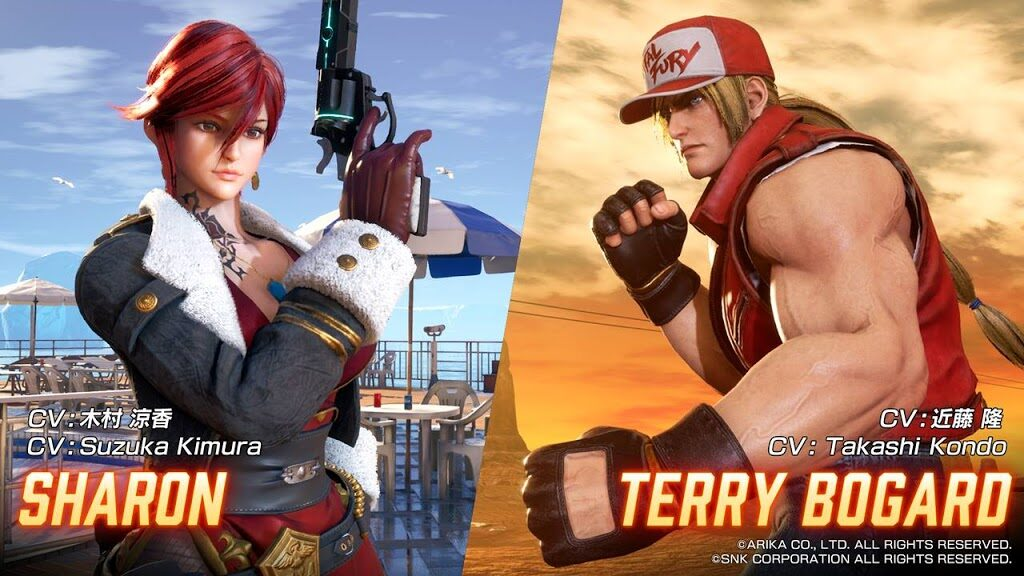 Terry Bogard and Sharon Join Fighting EX Layer Next Week