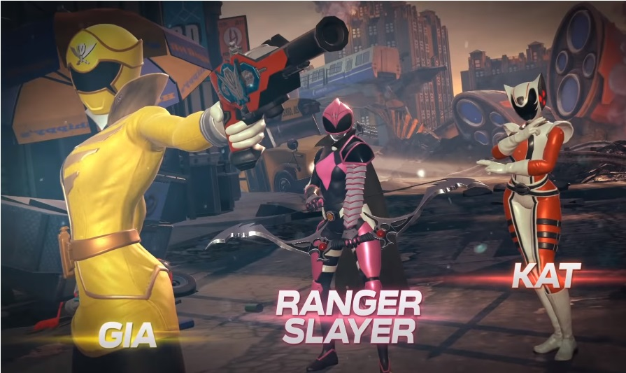 Power Rangers Battle for the Grid Trailer Reveals New Characters