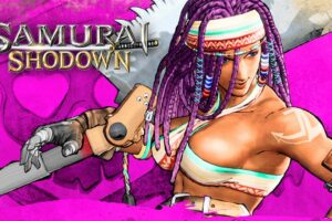 Newcomer Darli Dagger Shows Off Her Drill in Samurai Shodown Trailer