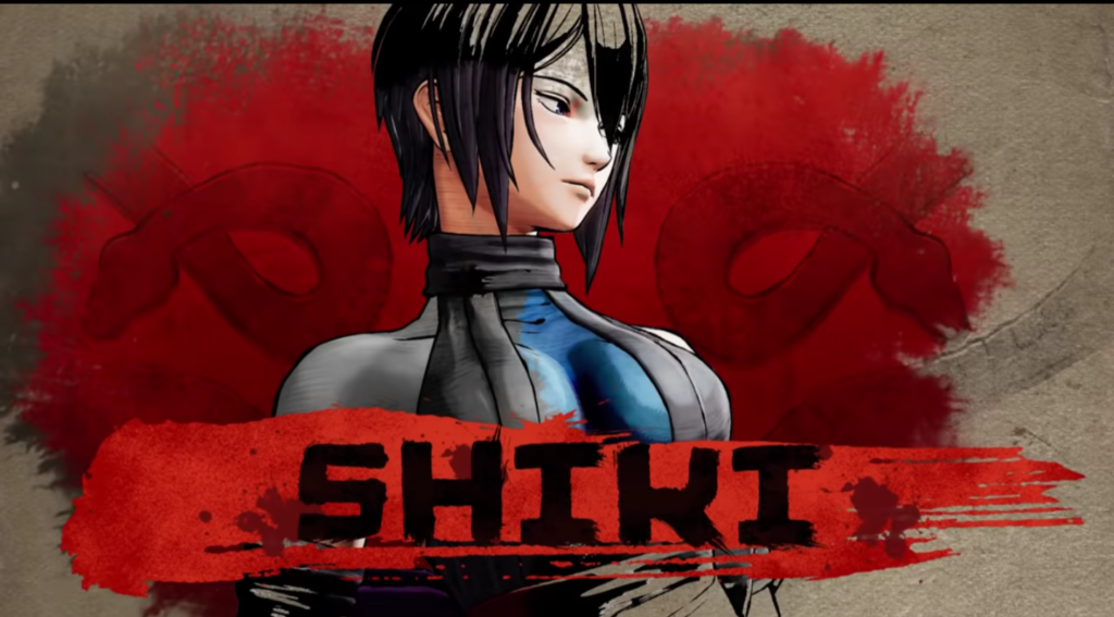 Shiki will #EmbraceDeath  in Samurai Shodown