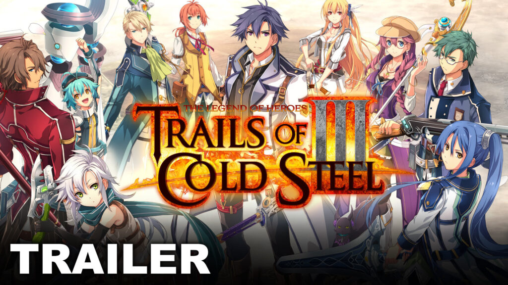 #E32019: The Legend of Heroes: Trails of Cold Steel III Releases This September