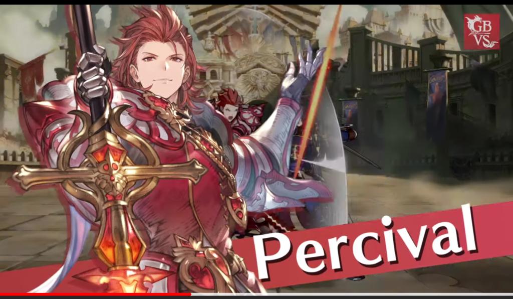 Percival Starts A Fire in Granblue Fantasy Versus