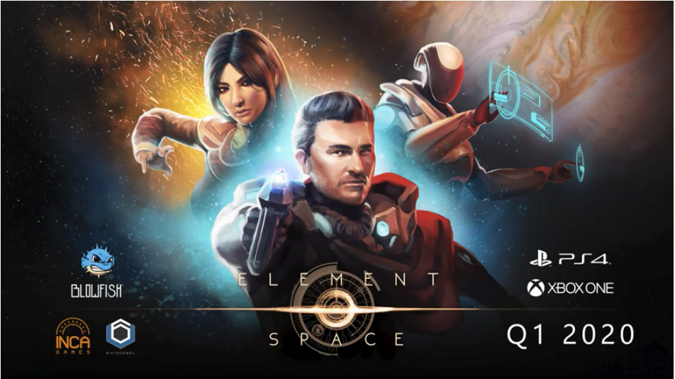 Blowfish Studios Unveil Their Indie TRPG Element Space