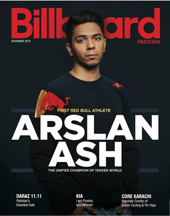 #FightFriday: Arslan Ash Graces the Cover of Billboard Magazine