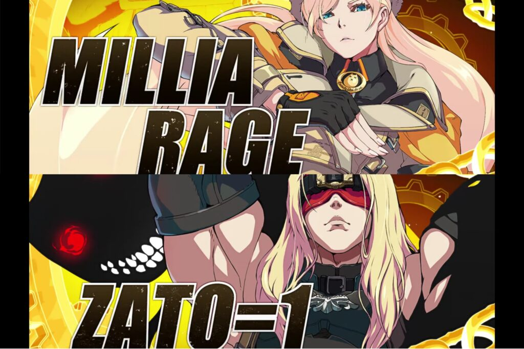 Millia Rage & Zato-1 Trailer for Guilty Gear -Strive-