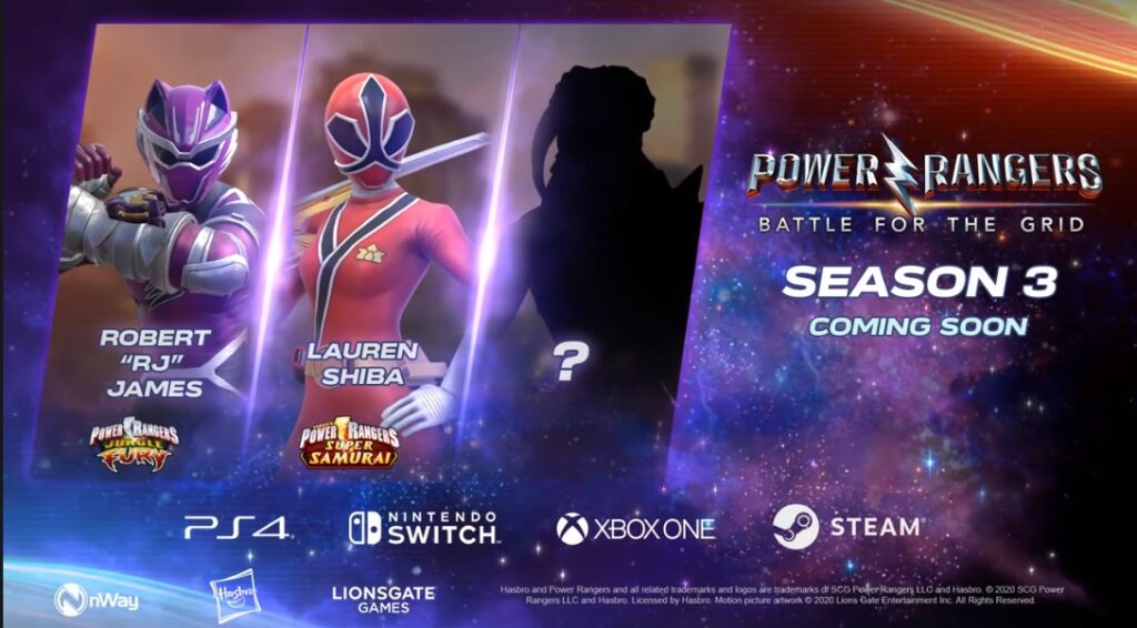 Power Rangers: Battle For the Grid Season 3 Teased